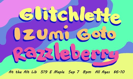 Glitchlette / Izumi Goto / Razzleberry